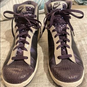 Nike Recognition High Abyss-Sail Purple High Tops
